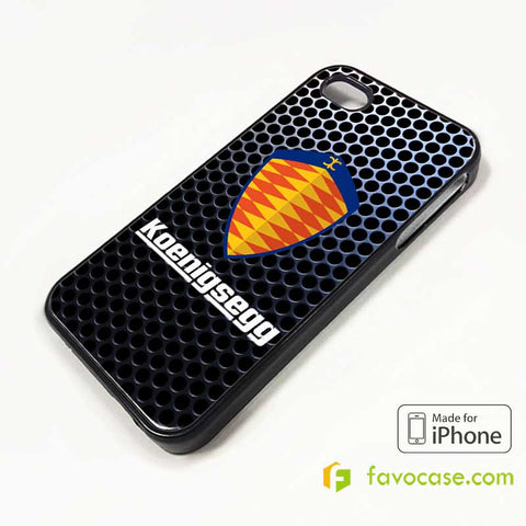 KOENIGSEGG iPhone 4/4S 5/5S/SE 5C 6/6S 7 8 Plus X Case Cover