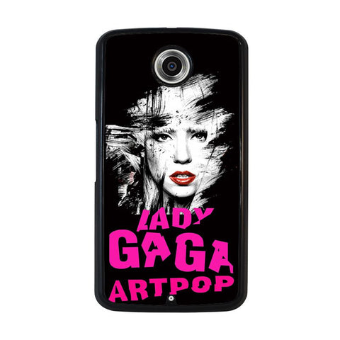 LADY-GAGA-PINK-nexus-6-case-cover