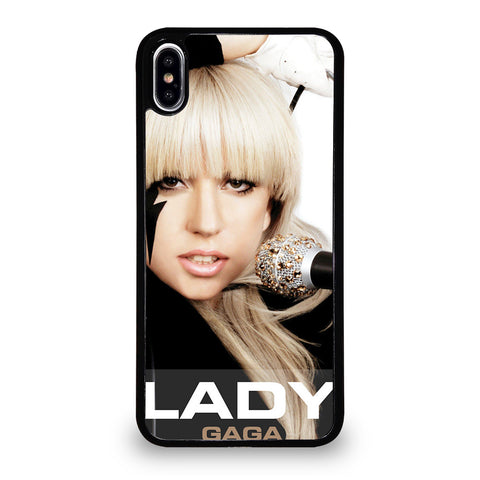 LADY GAGA-iphone-xs-max-case-cover