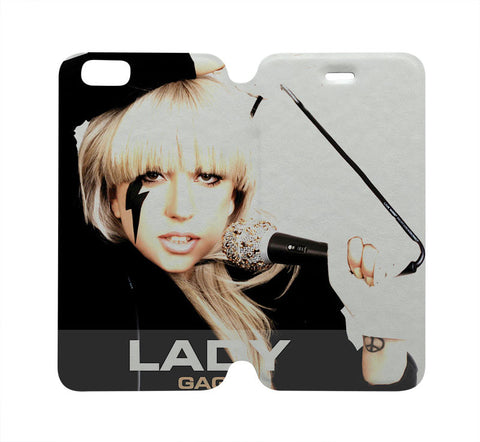 lady-gaga-case-wallet-iphone-4-4s-5-5s-5c-6-plus-samsung-galaxy-s4-s5-s6-edge-note-3-4