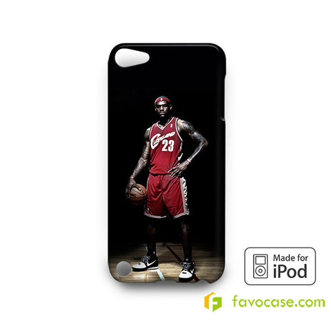 LEBRON JAMES CLEVELAND  iPod Touch 4 5 6 Case