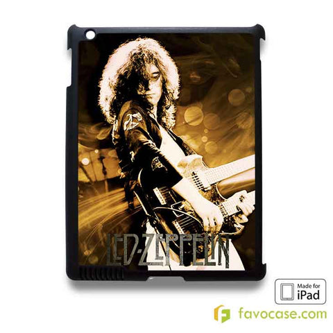LED ZEPPELIN Jimmy Page iPad 2 3 4 5 Air Mini Case Cover