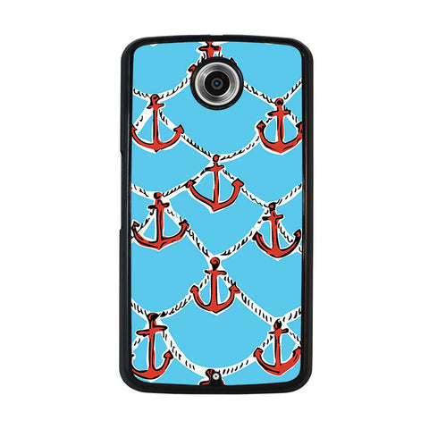 LILLY-PULITZER-ANCHOR-nexus-6-case-cover