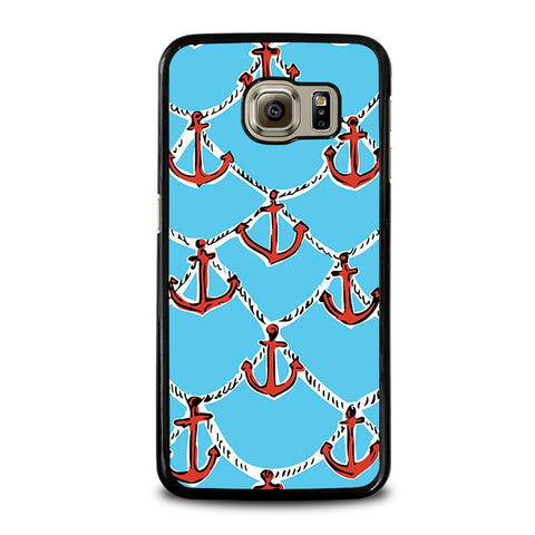 LILLY-PULITZER-ANCHOR-samsung-galaxy-s6-case-cover