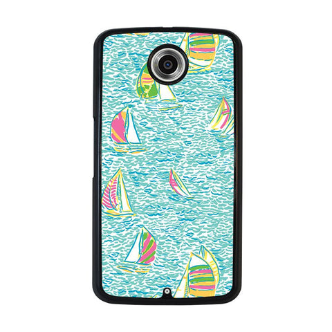 LILLY-PULITZER-SAILBOAT-nexus-6-case-cover
