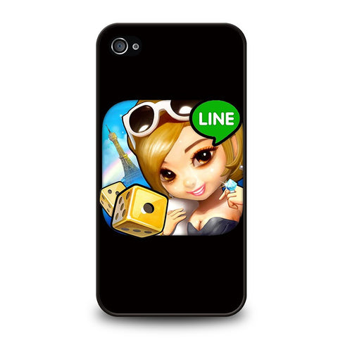 line-android-iphone-4-4s-case-cover