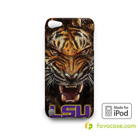 LSU TIGERS Football Louisiana State University   iPod Touch 4 5 6 Case