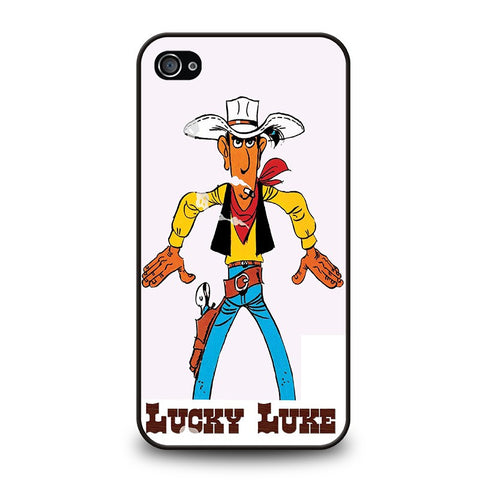 lucky-luke-coboy-iphone-4-4s-case-cover