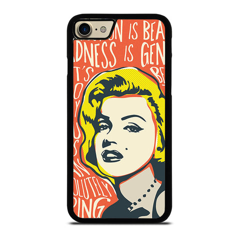 MARILYN MONROE ART QUOTS-iphone-7-case-cover