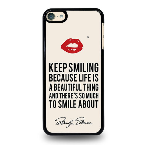 MARYLIN-MONROE-QUOTES-ipod-touch-6-case-cover