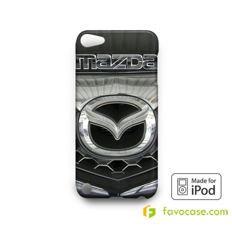 MAZDA Car Logo iPod Touch 4, 5 Case Cover