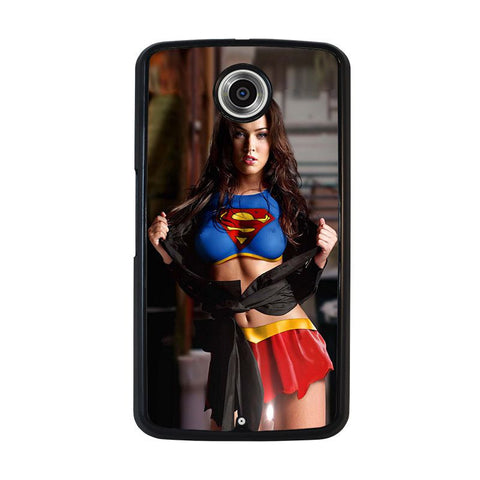 MEGAN-FOX-SUPER-GIRL-nexus-6-case-cover