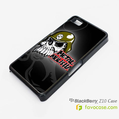 METAL MULISHA Blackberry Z10 Q10 Case Cover
