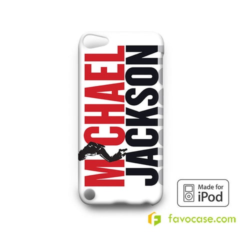 MICHAEL JACKSON 2 King of Pop  iPod Touch 4, 5 Case Cover