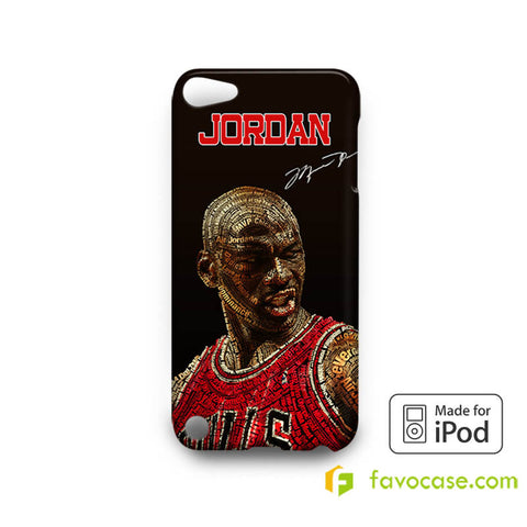 MICHAEL JORDAN 1 Chicago Bulls 23 Air   iPod Touch 4 5 6 Case