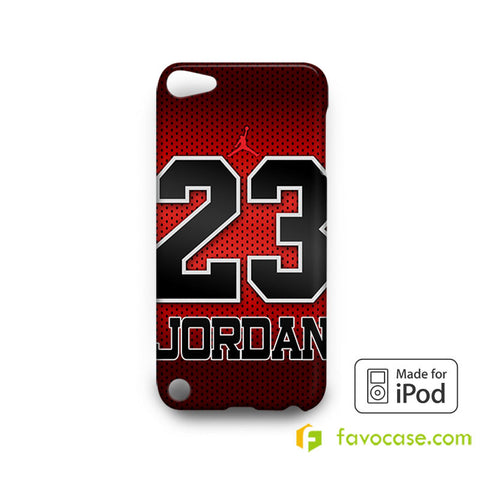 MICHAEL JORDAN 3 Chicago Bulls 23 Air  iPod Touch 4, 5 Case Cover
