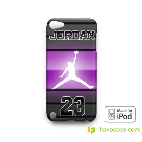 MICHAEL JORDAN 5 Chicago Bulls 23 Air  iPod Touch 4, 5 Case Cover