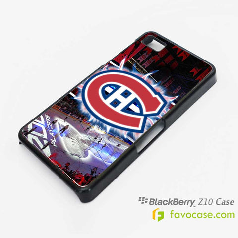 MONTREAL CANADIENS Ice Hockey Team NHL Blackberry Z10 Q10 Case Cover