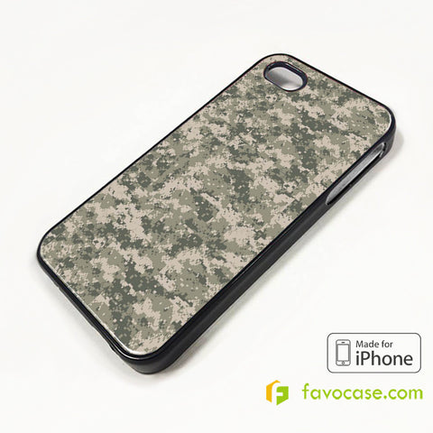 MILITARY URBAN CAMO iPhone 4/4S 5/5S/SE 5C 6/6S 7 8 Plus X Case Cover