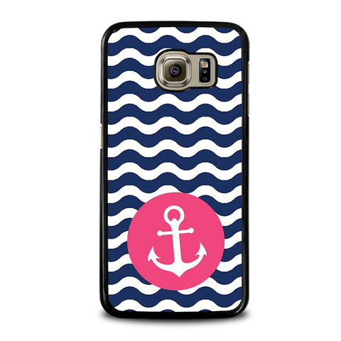 NAUTICAL-ANCHOR-Pattern-samsung-galaxy-s6-case-cover