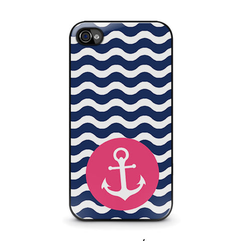 nautical-anchor-pattern-iphone-4-4s-case-cover