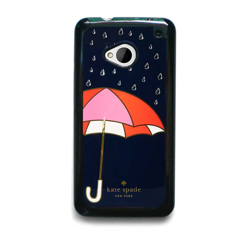 NAVY-UMBRELLA-KATE-SPADE-HTC-One-M7-Case-Cover