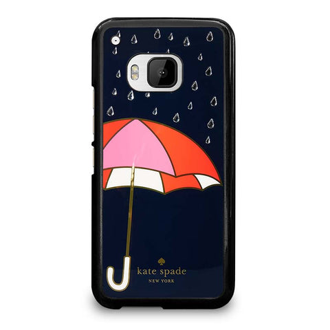 NAVY-UMBRELLA-KATE-SPADE-HTC-One-M9-Case-Cover