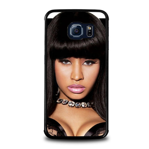 NICKI-MINAJ-IN-BLACK-samsung-galaxy-s6-edge-case-cover