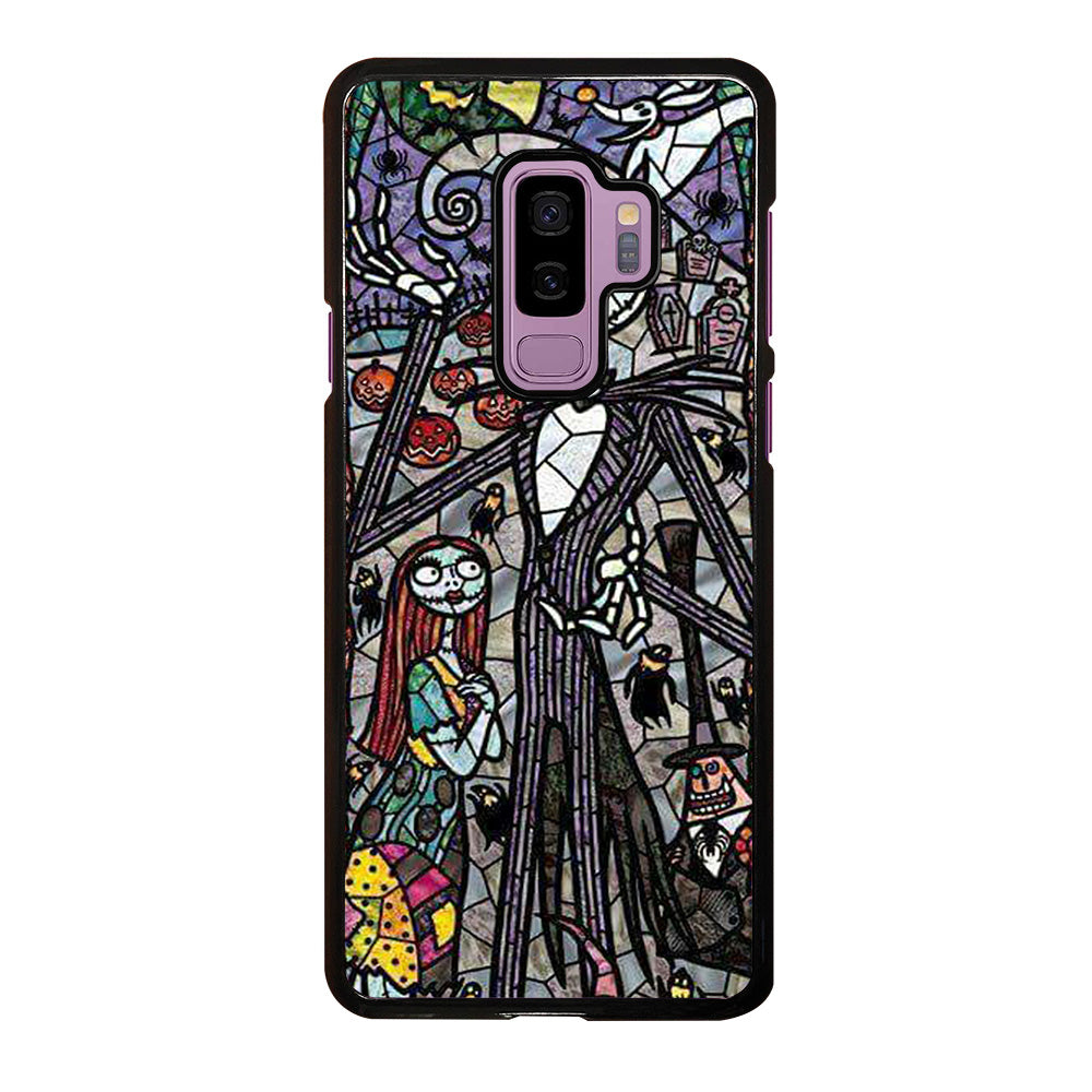 NIGHTMARE BEFORE CHRISTMAS ART GLASS Samsung Galaxy S9 Plus Case ...