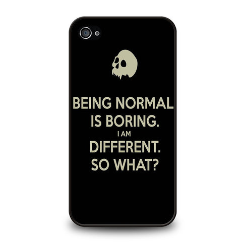 normal-is-boring-quotes-iphone-4-4s-case-cover