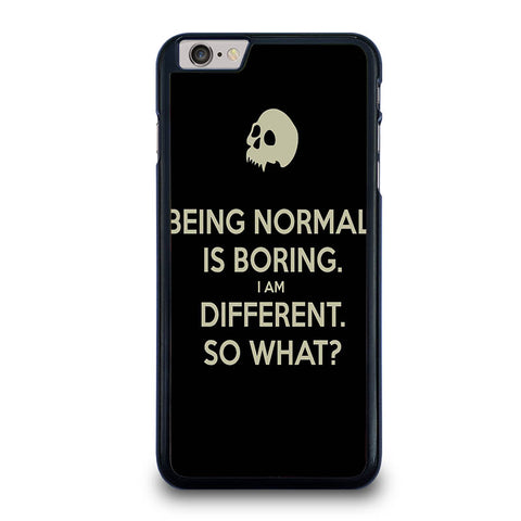 NORMAL-IS-BORING-QUOTES-iphone-6-6s-plus-case-cover