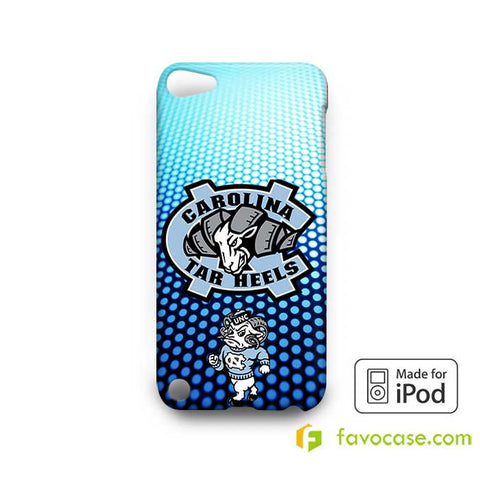 NORTH CAROLINA TAR HEELS COLLEGE  iPod Touch 4 5 6 Case