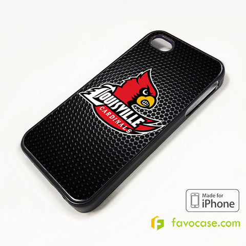 NEW LOUISVILLE CARDINALS iPhone 4/4S 5/5S/SE 5C 6/6S 7 8 Plus X Case Cover