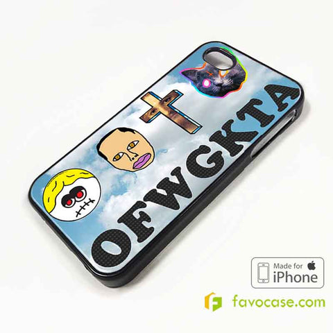 OFWGKTA Golf Wang Taylor The Creator iPhone 4/4S 5/5S/SE 5C 6/6S 7 8 Plus X Case Cover