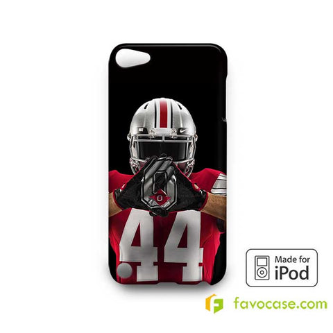 OHIO STATE BUCKEYES COLLEGE FOOTBALL  iPod Touch 4 5 6 Case