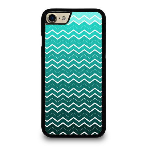 OMBRE-TEAL-CHEVRON-Pattern-Case-for-iPhone-iPod-Samsung-Galaxy-HTC-One