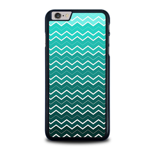 ombre-teal-chevron-pattern-iphone-6-6s-plus-case-cover