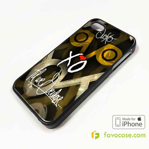 OVOXO Drake XO The Weeknd iPhone 4/4S 5/5S/SE 5C 6/6S 7 8 Plus X Case Cover