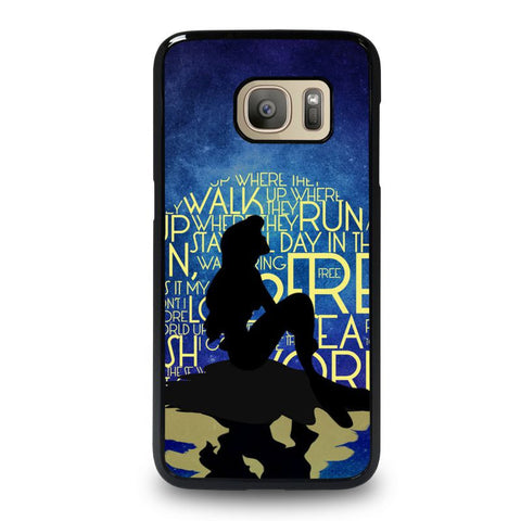PART-OF-YOUR-WORLD-ARIEL-LITTLE-MERMAID-samsung-galaxy-S7-case-cover