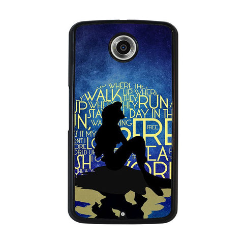 PART-OF-YOUR-WORLD-ARIEL-LITTLE-MERMAID-nexus-6-case-cover