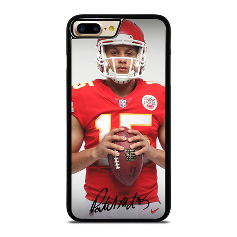 PATRICK MAHOMES KANSAS CITY CHIEFS iPhone 4/4S 5/5S/SE 5C 6/6S 7 8 Plus X Case - Best Custom Phone Cover Design