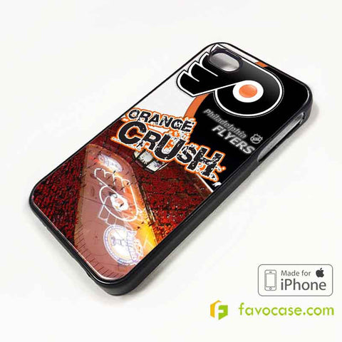 PHILADELPHIA FLYERS Ice Hockey Team NHL iPhone 4/4S 5/5S/SE 5C 6/6S 7 8 Plus X Case Cover
