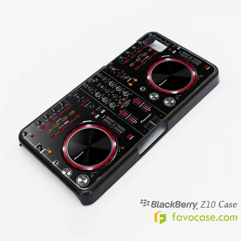 PIONEER DDJ ERGO Turntable DJ Blackberry Z10 Q10 Case Cover