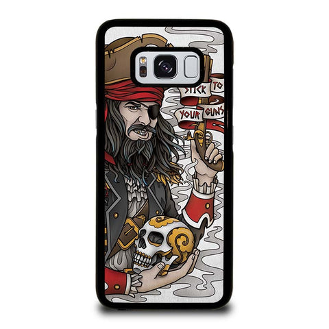 PIRATE-STICK-TO-YOUR-GUNS-TATTOO-samsung-galaxy-S8-case-cover