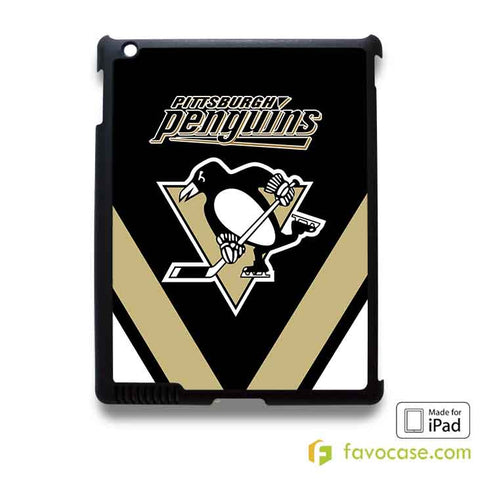 PITTSBURGH PENGUINS iPad 2 3 4 5 Air Mini Case Cover