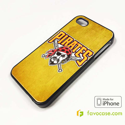 PITTSBURGH PIRATES iPhone 4/4S 5/5S/SE 5C 6/6S 7 8 Plus X Case Cover