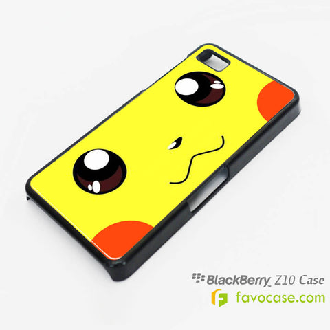 POKEMON 1 Pocket Monsters Pikachu Blackberry Z10 Q10 Case Cover