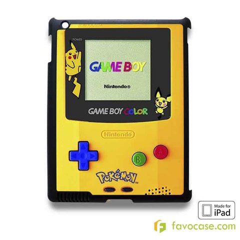 POKEMON GAMEBOY iPad 2 3 4 5 Air Mini Case Cover