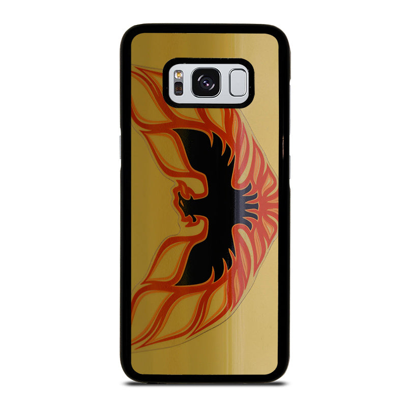 Pontiac Firebird Logo Gold Samsung Galaxy S8 Case Best Custom