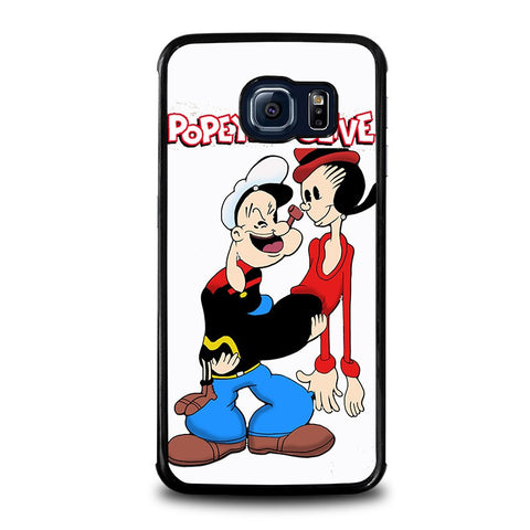 POPEYE-AND-OLIVE-In-Love-samsung-galaxy-s6-edge-case-cover
